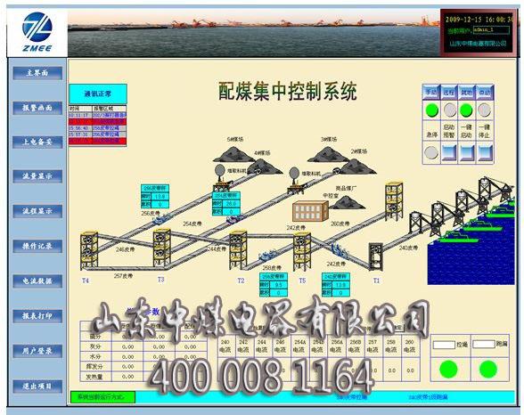 煤矿皮带集控系统